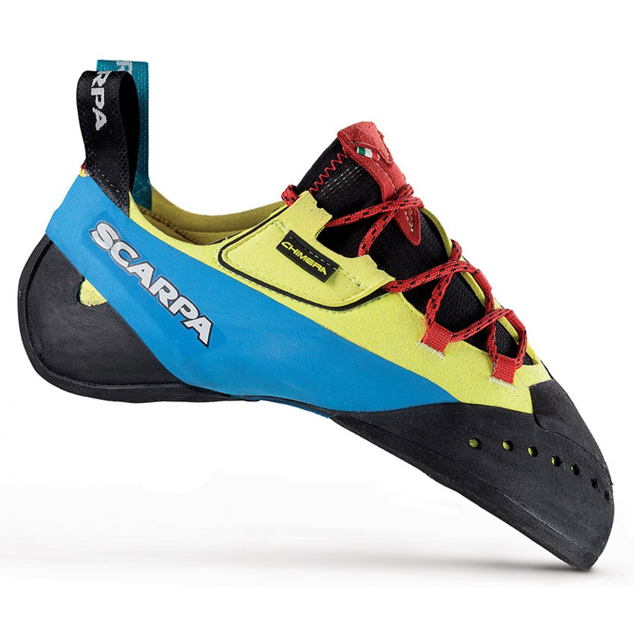 c9b0d59ac3 The Scarpa Chimera is a top end climbing shoe which is built around the  same highly popular last as the Drago and Furia. The Chimera is soft
