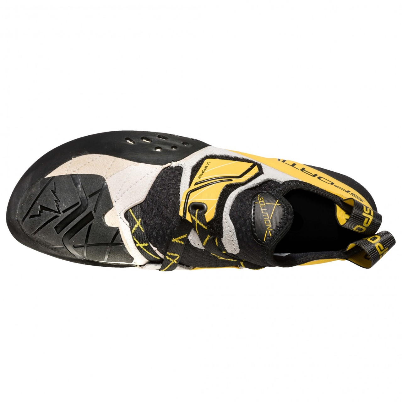 1a03653b98 The La Sportiva Solution is a revolutionary rock shoe developed  specifically for bouldering. Whatever technical problem the rock presents