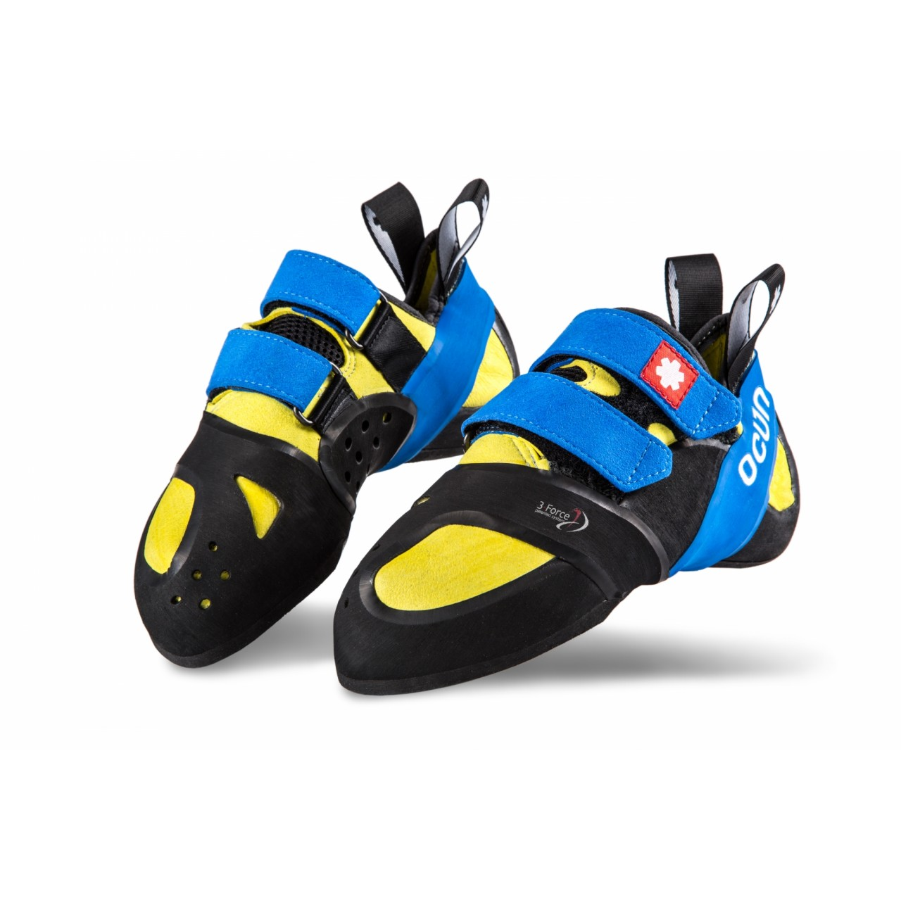 Ocun have designed two version of their velcro fastened performance shoe 85fd806f8b