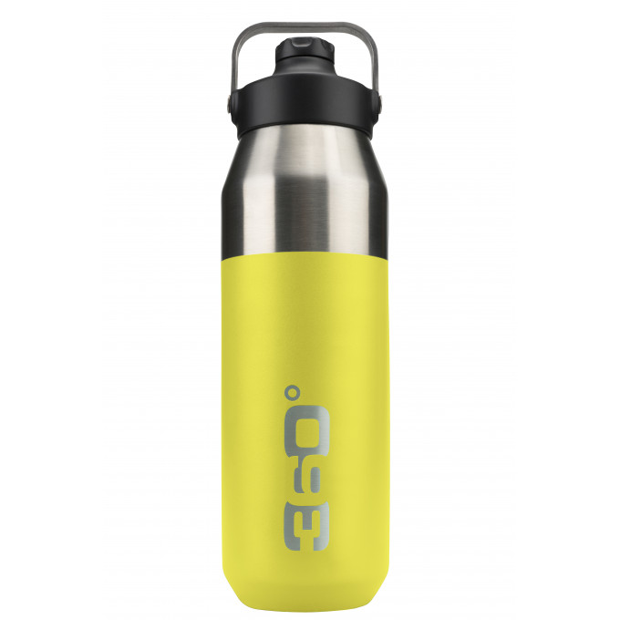 Vacuum insulated stainless wide mouth bottle with sip cap (1L)