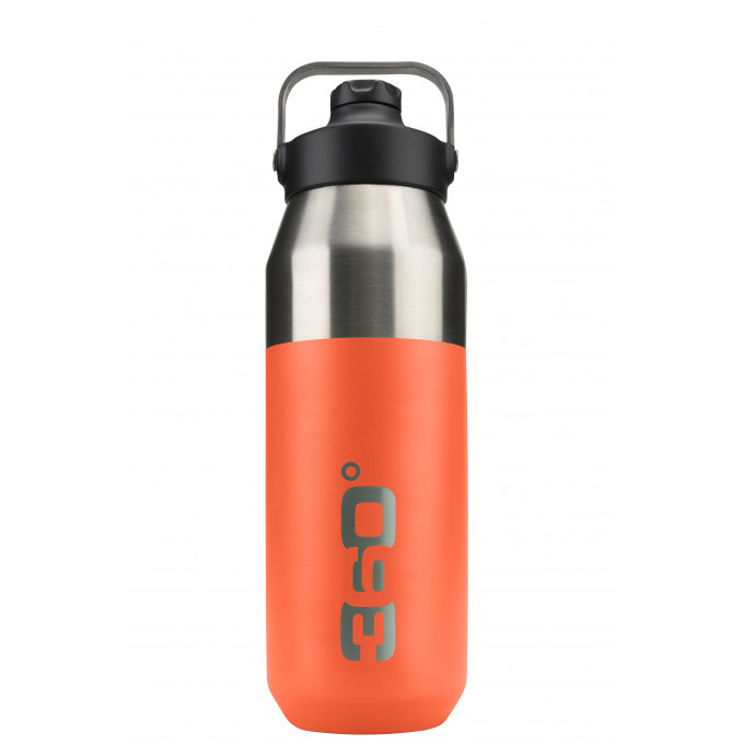 Vacuum insulated stainless wide mouth bottle with sip cap (750ml)