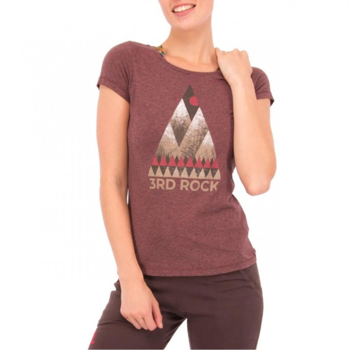 VALLEY - Women's Graphic Fitted Tee