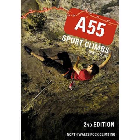 Preview of A55 Sport Climbs North Wales 2nd Edition
