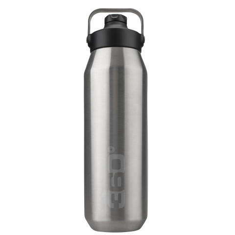 Preview of Vacuum insulated stainless wide mouth bottle with sip cap (1L)