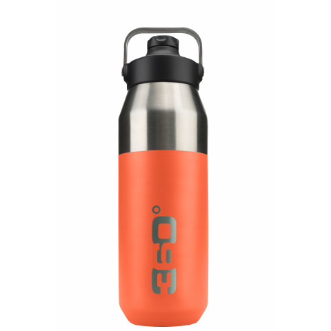 Preview of Vacuum insulated stainless wide mouth bottle with sip cap (750ml)