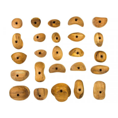 Preview of Wood Grips Climbing Holds - 25 Pack