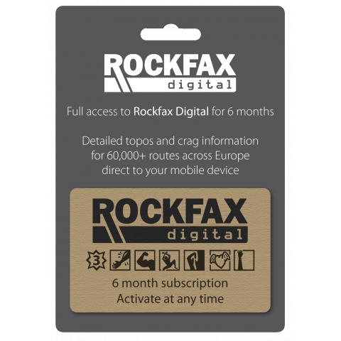 Preview of Rockfax 6 Month Digital Subscription