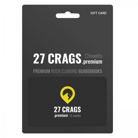 Preview of 27 Crags Premium Subscription