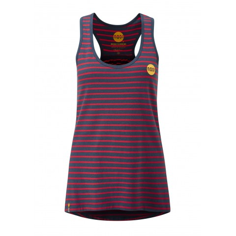 Preview of Women's Striped Bamboo Tech Vest