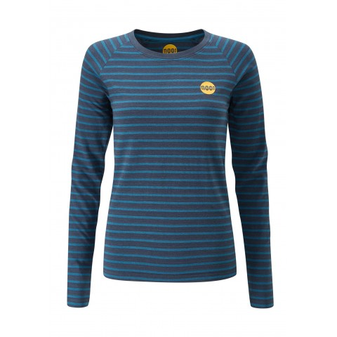 Preview of Women's Bamboo Striped Tech Long Sleeve