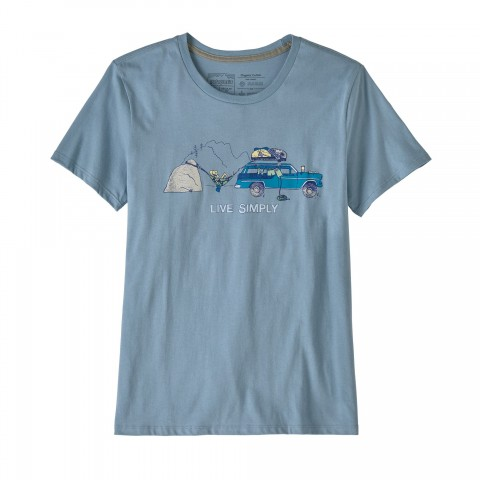Preview of Women's Live Simply Lounger Organic Cotton Crew T-Shirt