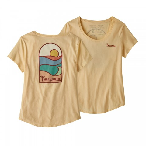 Preview of Women's Sunset Sets Organic Cotton Scoop T-Shirt