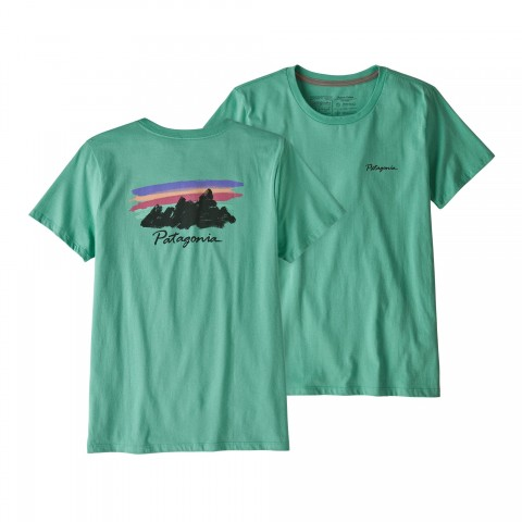 Preview of Women's Free Hand Fitz Roy Organic Cotton Crew T-Shirt