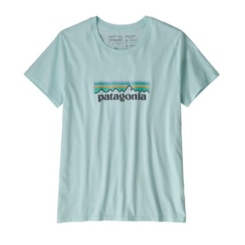 Preview of Women's Pastel P-6 Logo Organic Cotton Crew T-Shirt - Last Seasons colours