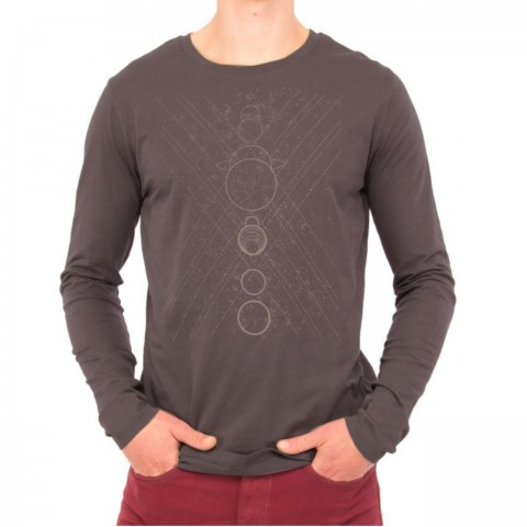 Preview of ALIGNMENT - Men's Organic Long Sleeved Tshirt