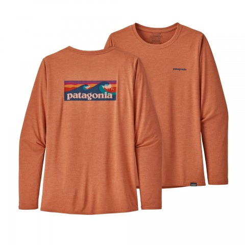Preview of Women's Long-Sleeved Capilene® Cool Daily Graphic Shirt