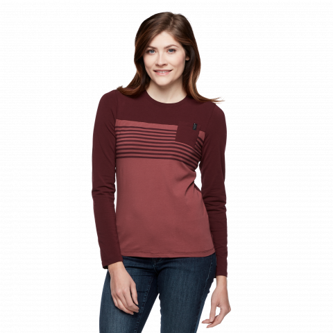 Preview of Women's Long Sleeve Campus T-Shirt