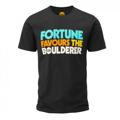 Preview of Fortune Favours The Boulderer T-Shirt