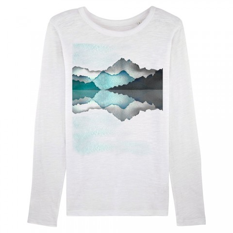 Preview of REFLECT - Organic Women's Long Sleeve Slub Tee