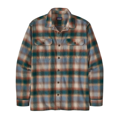 Preview of Long-Sleeved Organic Cotton Midweight Fjord Flannel Shirt