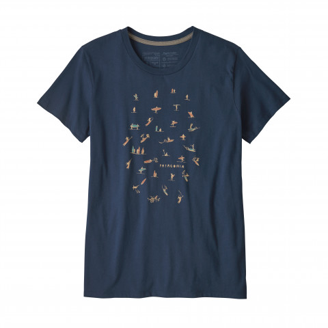Preview of Women's Paddle Pack Organic Cotton Crew T-Shirt