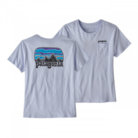 Preview of Women's Fitz Roy Far Out Organic Crew Pocket T-shirt
