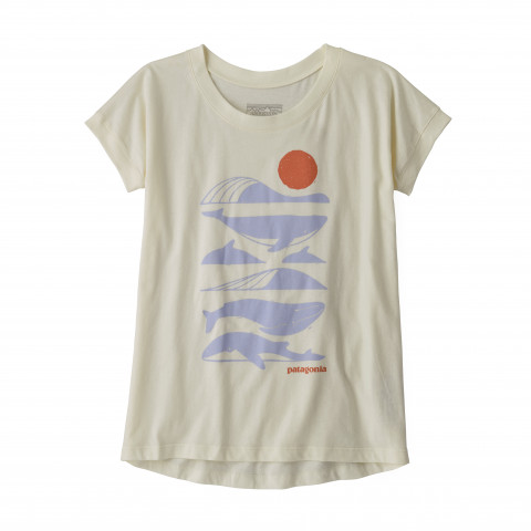 Preview of Girls' Graphic Organic Cotton T-Shirt