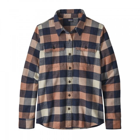 Preview of Women's Long-Sleeved Fjord Flannel Shirt
